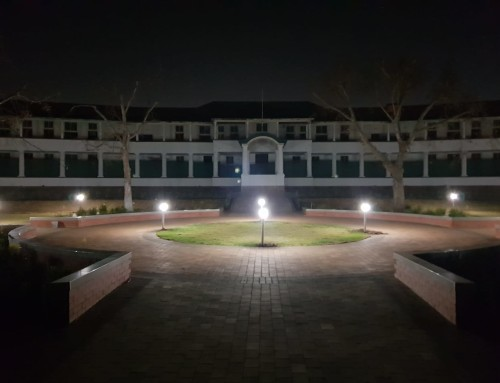 Heritage House and the Oval – 5 July 2018 – Lights!